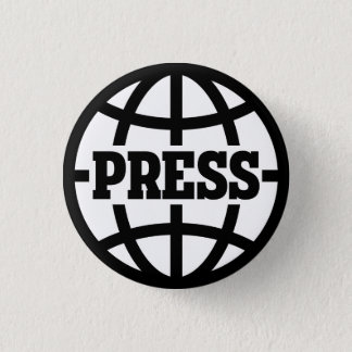 Vintage Press Pass Button