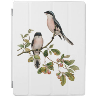 Vintage Pretty Birds on a Branch iPad Cover