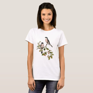 Vintage Pretty Birds on Branch T-Shirt