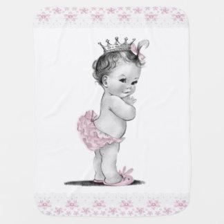 Vintage Princess Baby Blanket