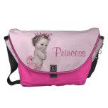 Vintage Princess Pink Baby Diaper Bag