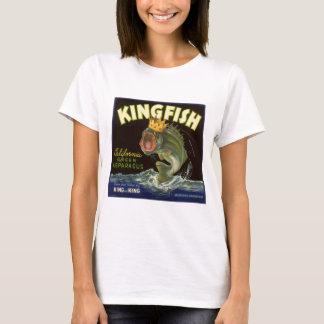 Vintage Product Can Label Art, Kingfish Asparagus T-Shirt