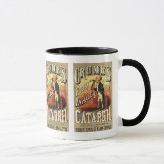 Vintage Product Label, Crumb's Pocket Inhaler Mug