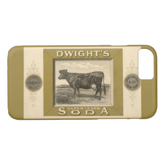 Vintage Product Label, Dwight's Bicarbonated Soda iPhone 7 Case