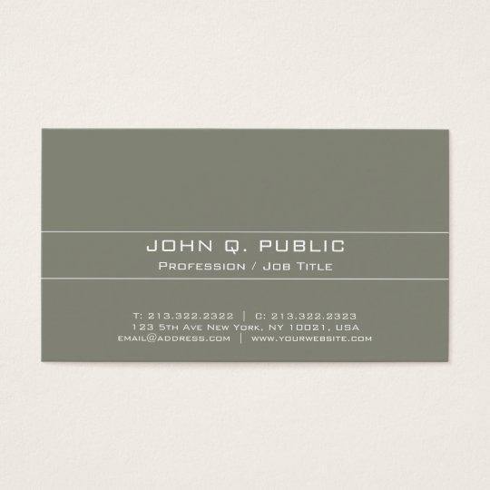 Vintage Professional Elegant Harmonic Colours Business Card