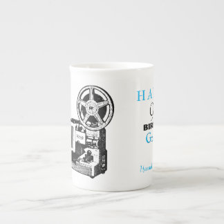 Vintage Projector personalized 90th Birthday Mug