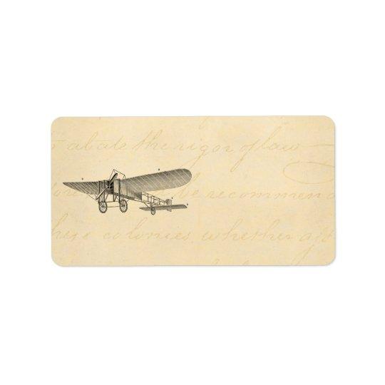 Vintage Propeller Airplane Retro Old Prop Plane