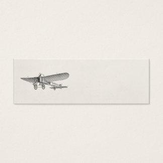 Vintage Propeller Airplane Retro Old Prop Plane Mini Business Card