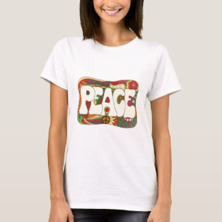 Vintage Psychedelic Peace and Love T-Shirt
