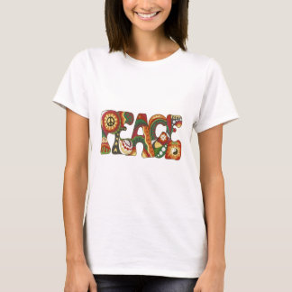Vintage Psychedelic Peace T-Shirt