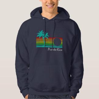Vintage Puerto Rico - Distressed Design Hoodie