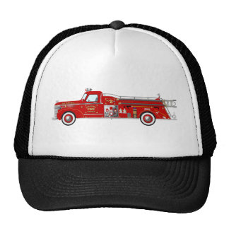 Vintage Pumper Red Trucker Hat