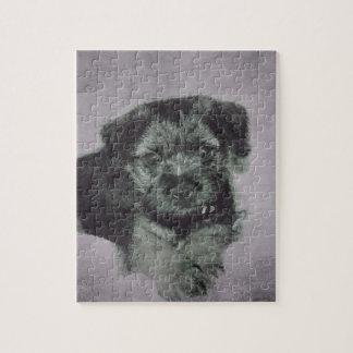 Vintage puppy jigsaw puzzle