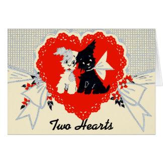 Vintage Puppy Valentine Card! Card