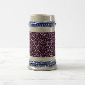 Vintage Purple Beer Stein