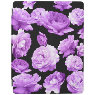 Vintage Purple Floral iPad 2/3/4 Smart Cover iPad Cover