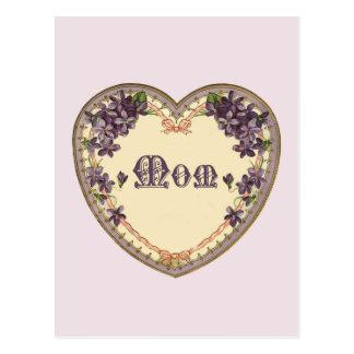 Vintage Purple Heart Postcard