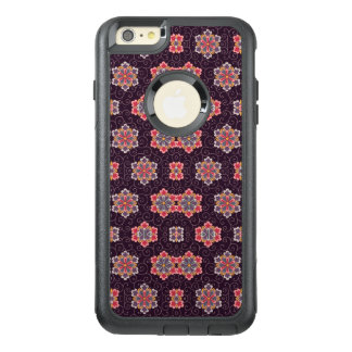 Vintage Purple Pattern Floral Peach Blue OtterBox iPhone 6/6s Plus Case