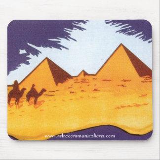 Vintage Pyramid Mousepad