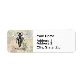 Vintage Queen Bee Illustration