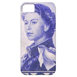 Vintage Queen Elizabeth Fiji iPhone 5 Cases