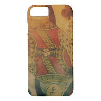 Vintage Queen of spades card iphone 7 case
