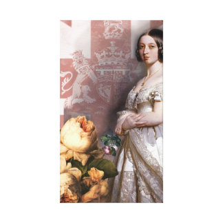 Vintage Queen Victoria Canvas Print