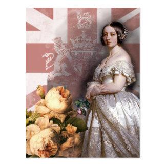 Vintage Queen Victoria Postcard