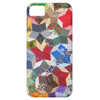 Vintage Quilt Seamstress Geometric Pattern Case For The iPhone 5