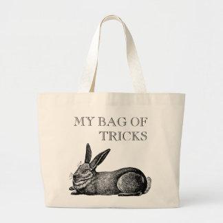 Vintage Rabbit Artisan Style Customizable Tote Bag