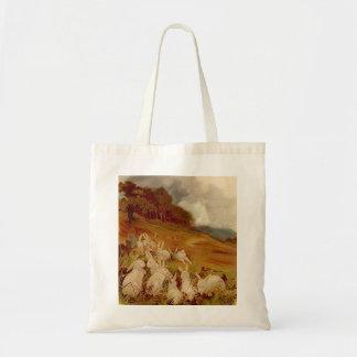 Vintage Rabbits Tote Bag
