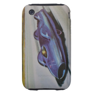 Vintage Racing Car iPhone 3G/3GS Case-MateTough Tough iPhone 3 Cover