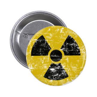Vintage Radioactive 2 Inch Round Button