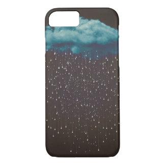 Vintage raincloud Iphone case