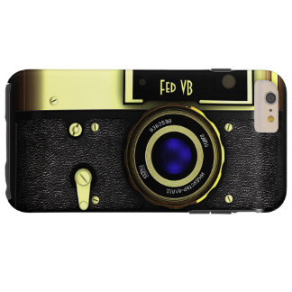 Vintage rangefinder camera tough iPhone 6 plus case