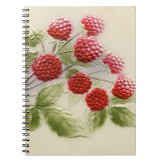 Vintage Raspberries Notebook