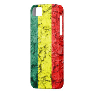 Vintage rasta flag iPhone 5 covers