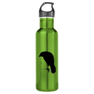 Vintage Raven - Custom Goth Crows Ravens 710 Ml Water Bottle