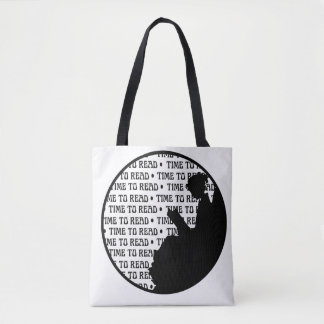 Vintage Reading Lady Tote bag for Book lovers