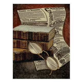 Vintage Reading Postcard