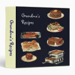 Vintage Recipes Book, all american cookery