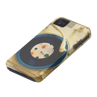 Vintage Record player Case-Mate iPhone 4 Cases