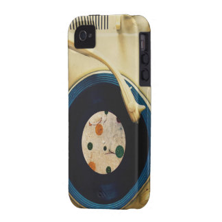 Vintage Record player Case-Mate iPhone 4 Cover