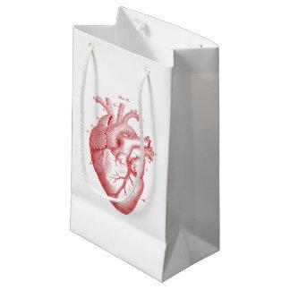 Vintage Red Anatomical Heart - Gift Bag