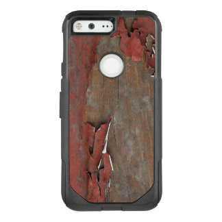 Vintage Red Barn Wood OtterBox Commuter Google Pixel Case