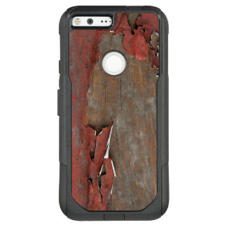 Vintage Red Barn Wood OtterBox Commuter Google Pixel XL Case
