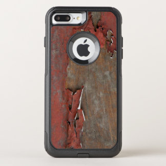 Vintage Red Barn Wood OtterBox Commuter iPhone 8 Plus/7 Plus Case