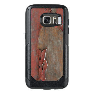 Vintage Red Barn Wood OtterBox Samsung Galaxy S7 Case