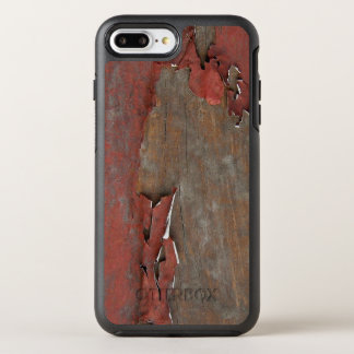 Vintage Red Barn Wood OtterBox Symmetry iPhone 8 Plus/7 Plus Case