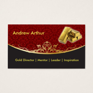 Vintage Red Business Card